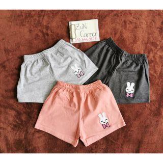 Quần đùi cotton bé gái 1-7 tuổi