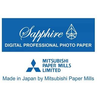 Giấy in ảnh Sapphire Mitsubishi Japan chính hãng A4 ( 1000 tờ/ thùng)