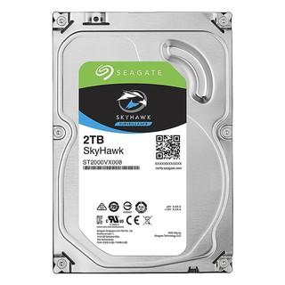[Mã 1510ELSALE hoàn 7% xu đơn 300K] Ổ cứng HDD Seagate SkyHawk 2TB 5900RPM SATA 3.5″ ST2000VX008 – Hàng Chính Hãng