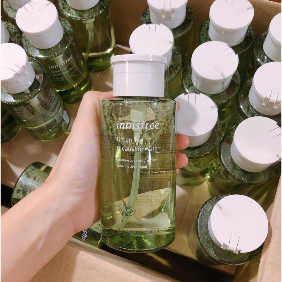 [Mẫu Mới Nhất]  Nước tẩy trang trà xanh Innisfree Green Tea Cleansing Water 300ml