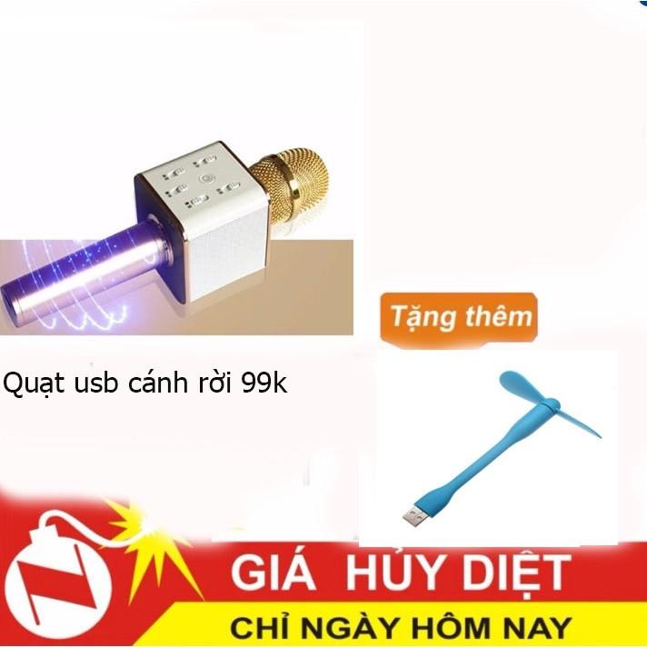 Mic hát karaoke blutooth Q7 + Quạt nhỏ USB Cánh rời - 2810539 , 292464323 , 322_292464323 , 197000 , Mic-hat-karaoke-blutooth-Q7-Quat-nho-USB-Canh-roi-322_292464323 , shopee.vn , Mic hát karaoke blutooth Q7 + Quạt nhỏ USB Cánh rời
