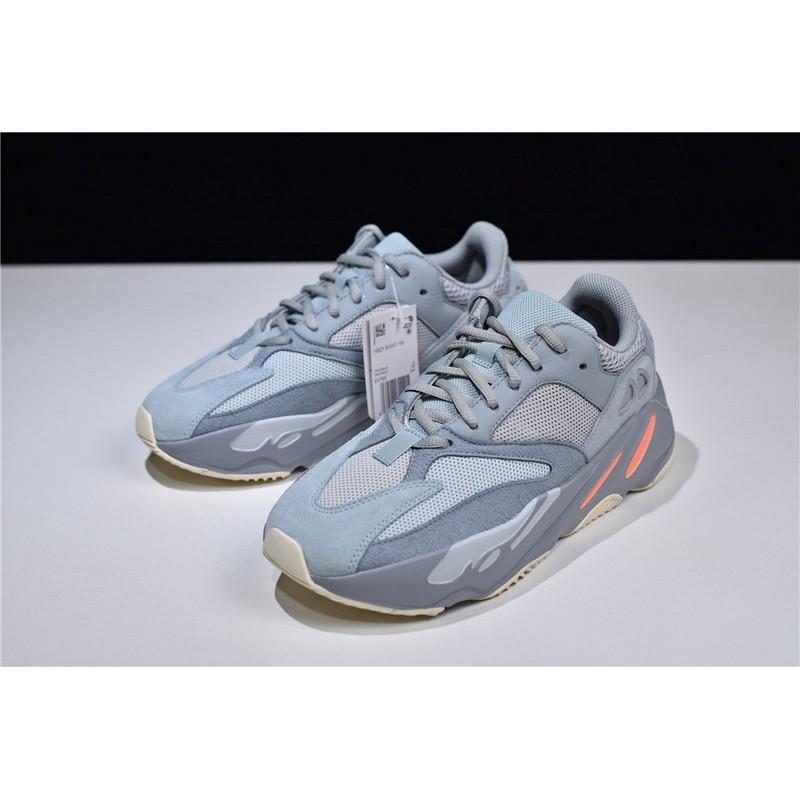 สต็อกพร้อมแล้ว Adidas Yeezy Boost 700 Mauve รองเท้าผ้าใบรองเท้าวิ่งต้นฉบับใหม่