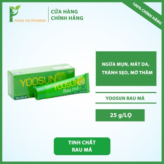 Yoosun Rau Má - Ngừa mụn, Mát da, Tránh Sẹo, Mờ thâm (Tuyb 25g) - CN149 thumbnail