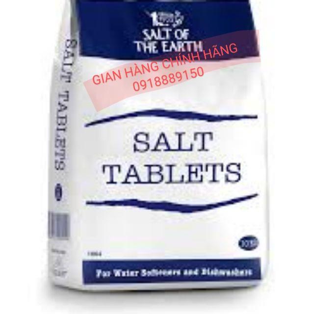 RẺ 2kg- Muối máy rửa chén bát israel, muối làm mềm nước, lẻ 2kg siêu tiết kiệm hơn muối finish muối somat alio ludwik