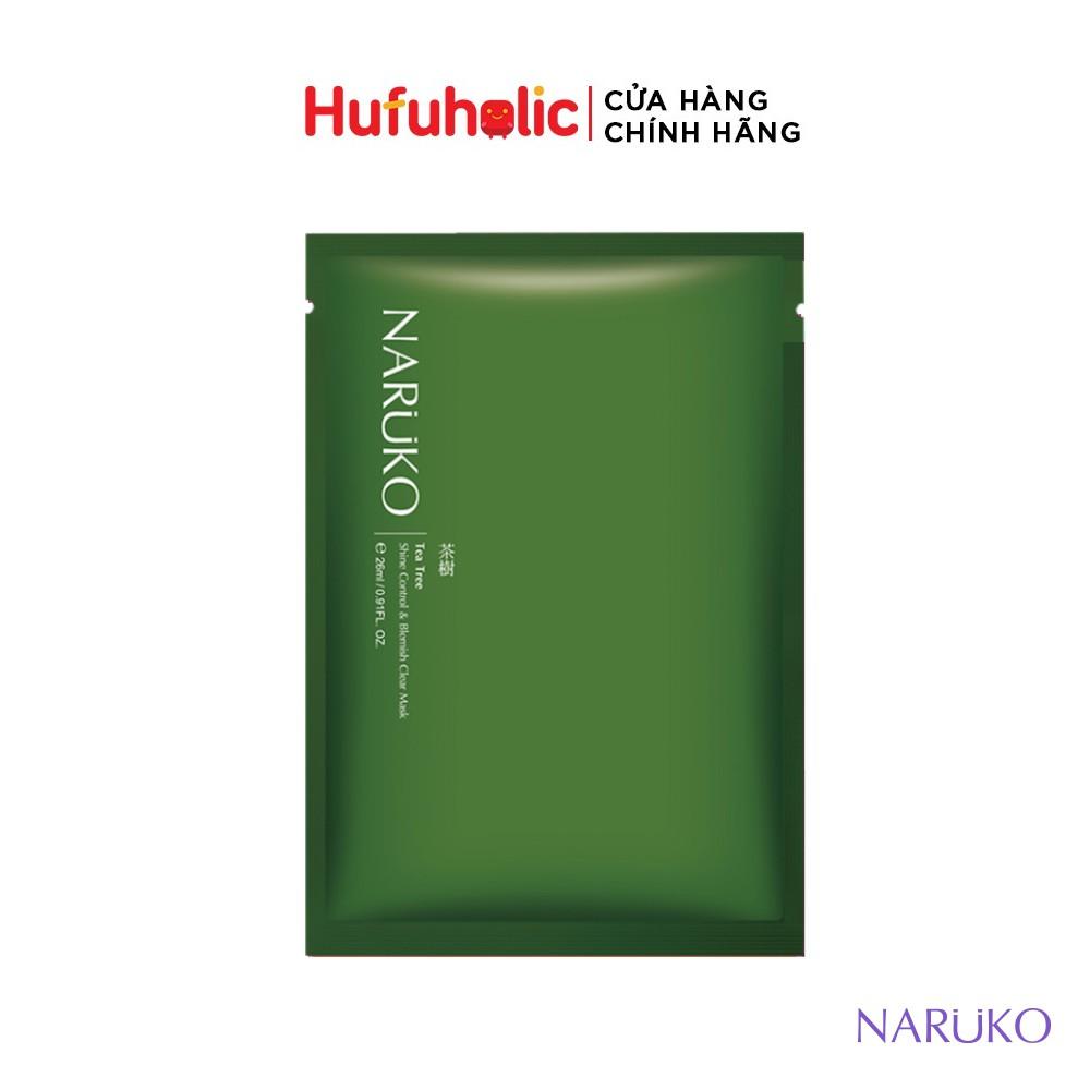 [MIẾNG LẺ] NARUKO - Mặt nạ tràm trà trị mụn teatree (Đài - Trung)