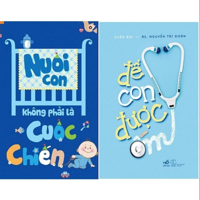 sách- Combo 2 cuốn để con được ốm, nuôi con không phải cuộc chiến