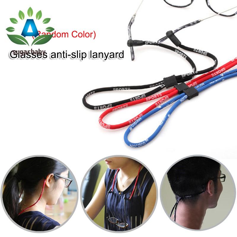 Glasses Strap Neck Cord Sports Anti-slip Eyeglasses Band Sunglasses Rope String Holder