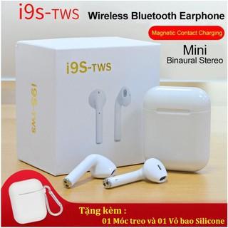 [Mã ELFLASH5 giảm 20K đơn 50K] Tai Nghe I9S không dây kết nối Bluetooth, lọc âm chống ồn
