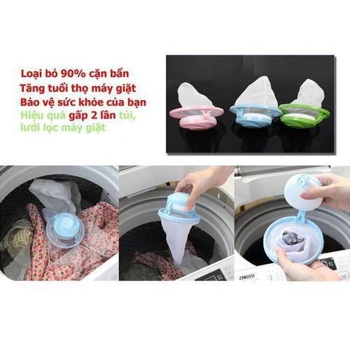 Combo 2 Phao Lọc Cặn Máy Giặt Siêu Sạch