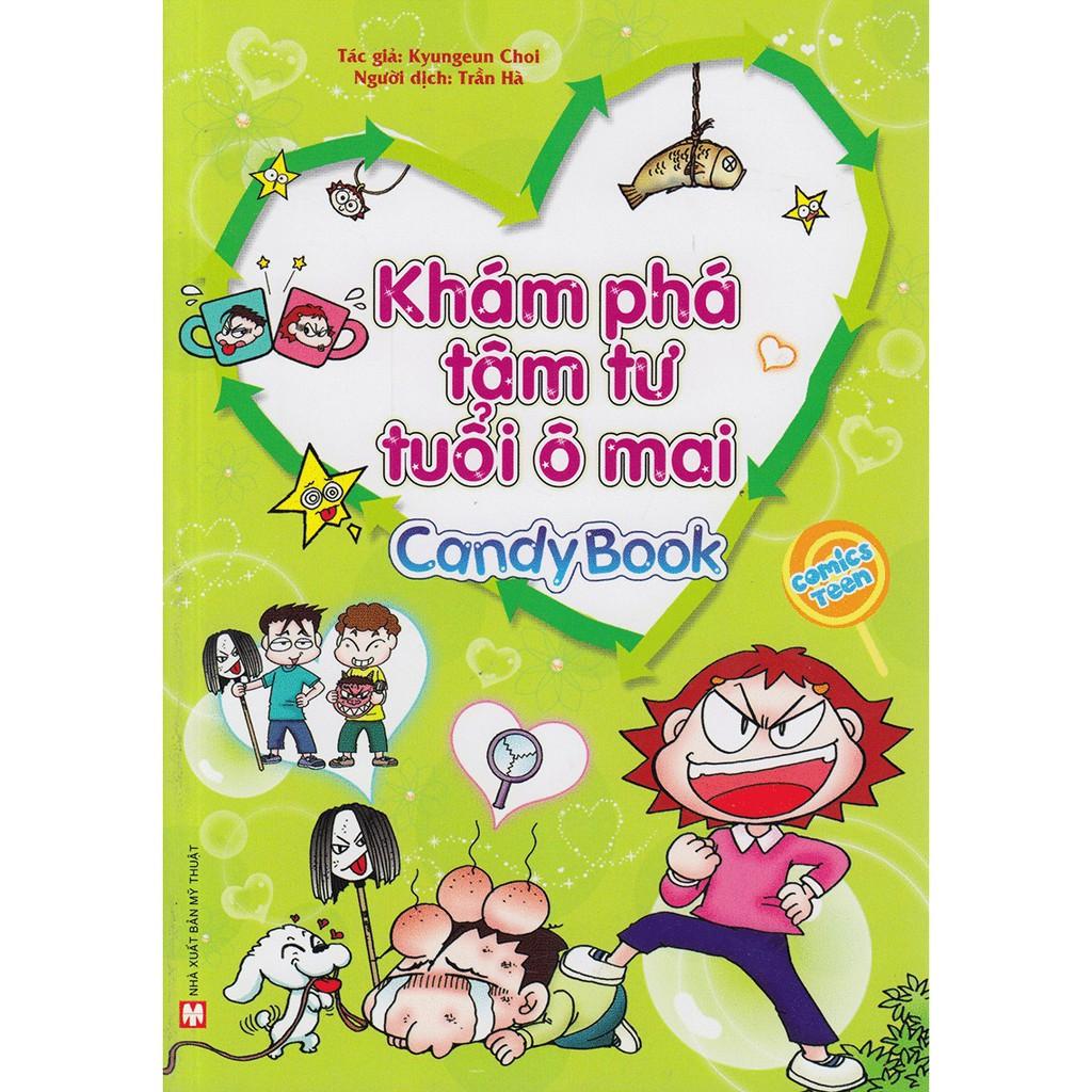 [ Sách ] Candy Book - Khám Phá Tâm Tư Tuổi Ô Mai