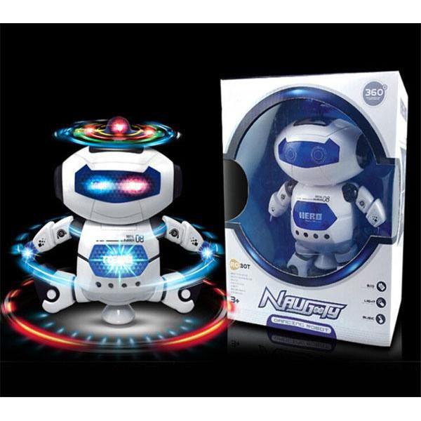 [FreeShip_Hàng Loại 1] Đồ chơi robot thông minh hát nhảy xoay 360 độ theo nhạc giúp bé yêu phát triển...