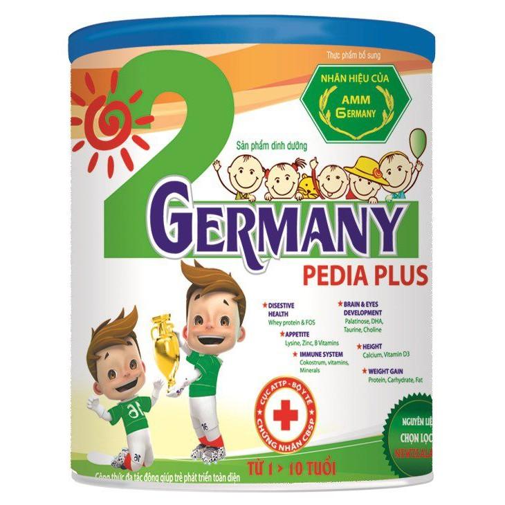 (NHẬP MÃ CONG20 GIẢM 20%) sữa Germany Pedia Plus 820G VÀ 320G