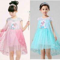 💖 XẢ HÀNG Váy Elsa size 110-150 cho bé khoảng 14-30/33kg xanh hoặc hồng