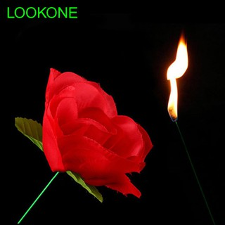 for Girlfriend Kids Friends Flower Trick Appearing Fire Magic