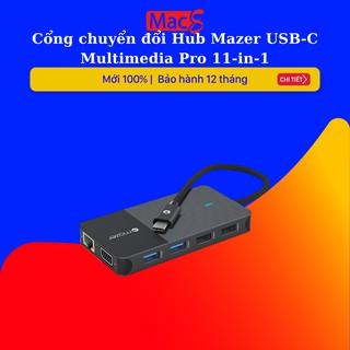 Cổng chuyển đổi Hub Mazer USB-C Multimedia Pro 7-in-1