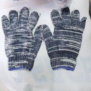 Combo 5 đôi găng tay len lao động loại dày thumbnail