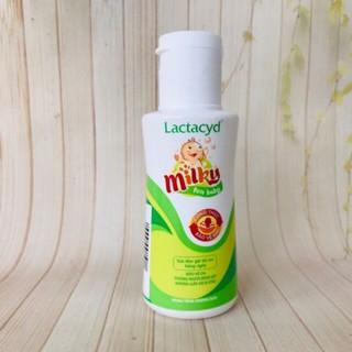 Sữa tắm trẻ em lactacyd Milky mini 60ml chống rôm sảy phù hợp cho trẻ sơ sinh