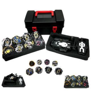 8Pcs Set Gyro Burst Beyblade With Launcher Portable Storage Box Kids Gift