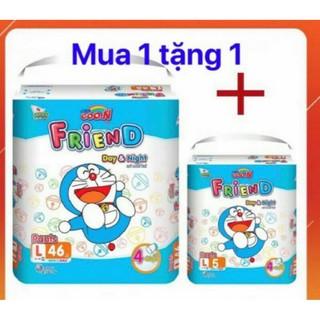 (Mẫu mới - CỘNG 6 MIÊNG)Tã quần Goon friend S62 M54+6 L46+6 XL40+6 XXL34+6 XXL22+6 thumbnail