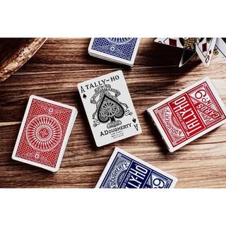 Bộ Bài Tây Tally-Ho Playing Cards, Thẻ Sưu Tập Bicycle, Trò Chơi Thẻ Ma Thuật, Đạo Cụ Ảo Thuật Cho Nhà Ảo Thuật thumbnail