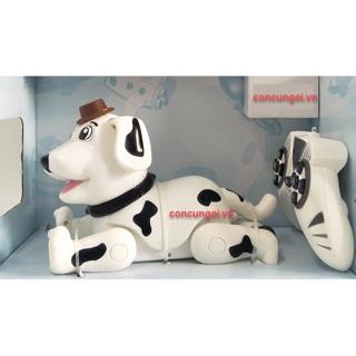 Đồ chơi chó robot điều khiển đứng, ngồi, vẩy đuôi – 888-1F