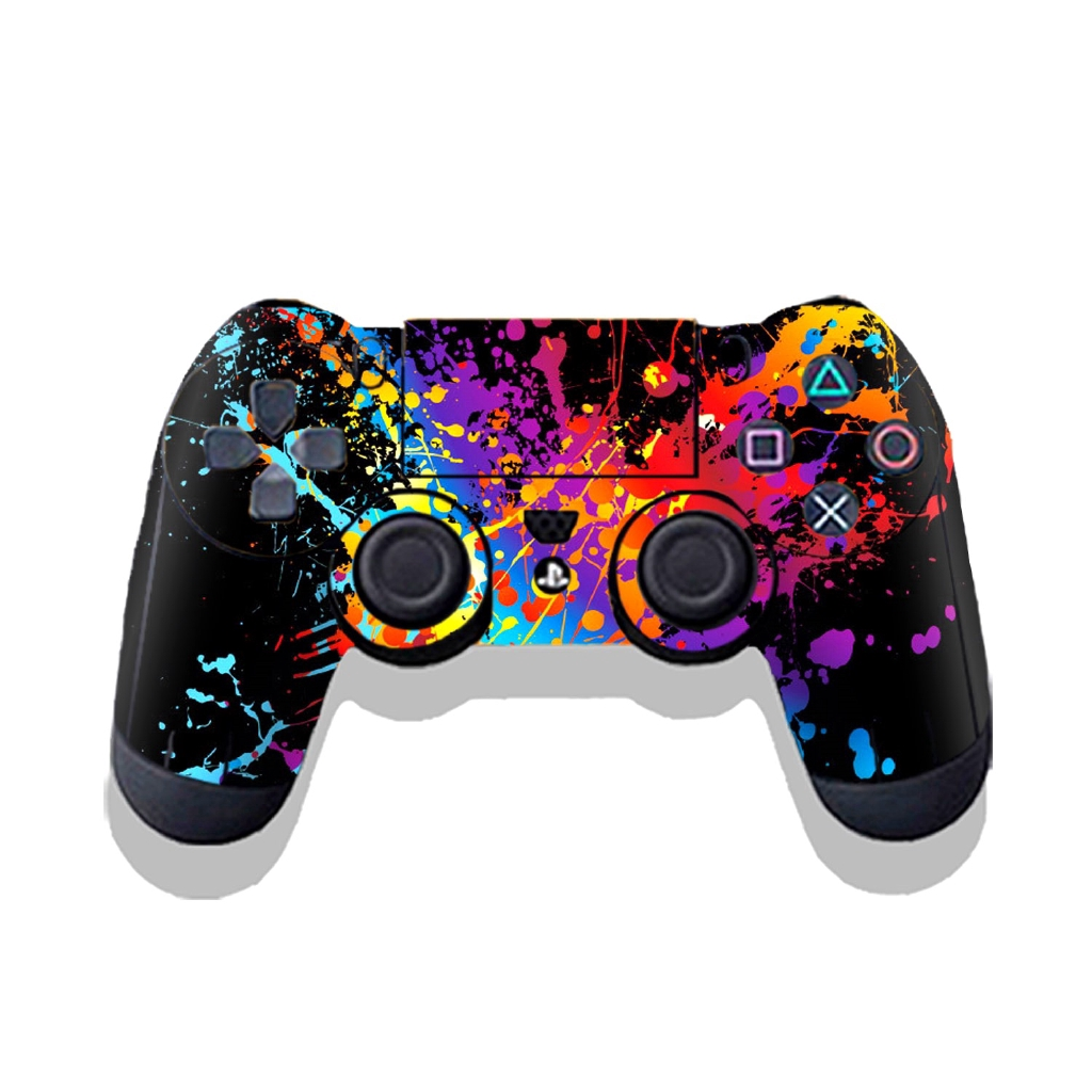 Hexu 0031 For Sony Playstation PS4 Vinyl Decorative Sticker Skin Decal Wrap Controller Skins Cover Case