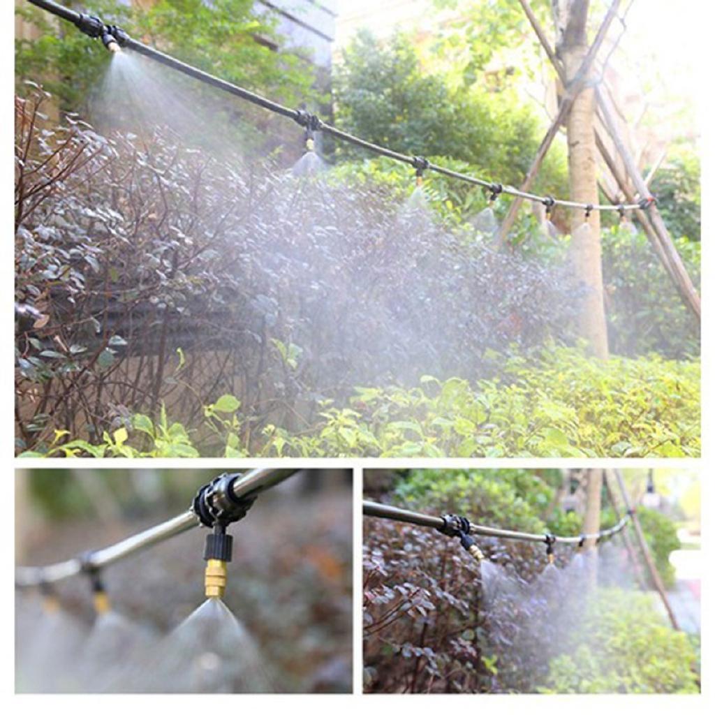 Bộ KIT Phun Sương Tưới Cây 20 Béc Bằng Đồng Cao Cấp - Bộ KIT Phun Sương