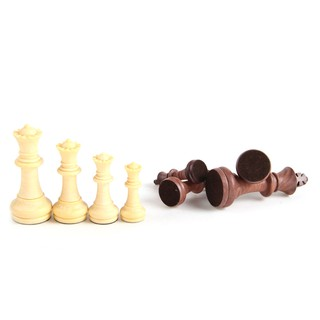 Wood Grain Plastic Folding Magnetic Chess