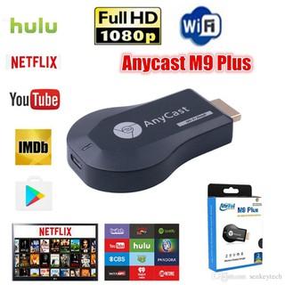 [Mã ELFLASH5 giảm 20K đơn 50K] Thiết bị HDMI không dây Anycast M9 Plus - Lõi kép tốc độ kết nối ổn định