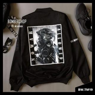 [Ảnh thật] Áo khoác Bomber No.WAR (hàng design cao cấp) [MS: BWTM19]
