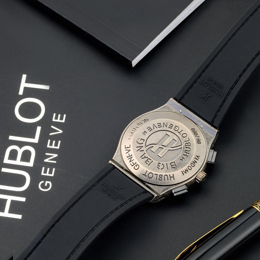 [Tặng box hãng] Đồng hồ nam Hublot cao cấp full đá DH207