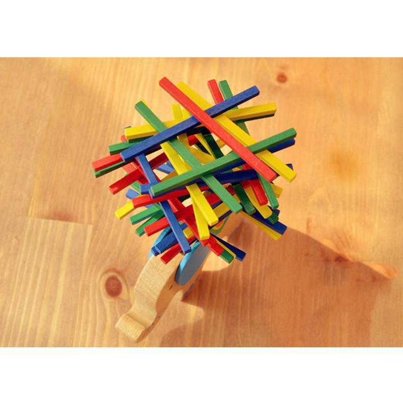 [150K Freeship] Đồ Chơi Gỗ Giáo Cụ Montessori - Voi Cân Bằng Boardgame