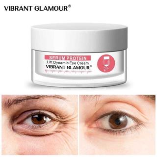 Bộ Serum Protein Dưỡng Mắt Bộ Kem Dưỡng Vibrant Glamour Da Chống Nếp Nhăn Xóa Thâm Quầng Bọng Mắt (Kem dưỡng mắt 20g +Huyết thanh mắt15ml) 3