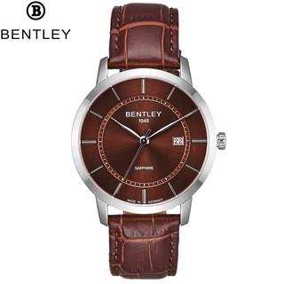 Đồng hồ nam dây da mặt kính chống xước Bentley BL1806 BL1806-10 BL1806-10MWDD thumbnail