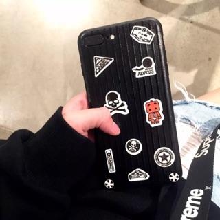 Ốp Vali iPhone Bản Mini (Tặng kèm 10 stickes 200 hình )DIY