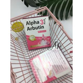 Kích Trắng Vỉ 10 Viên Alpha Arbutin 3 PLUS thumbnail