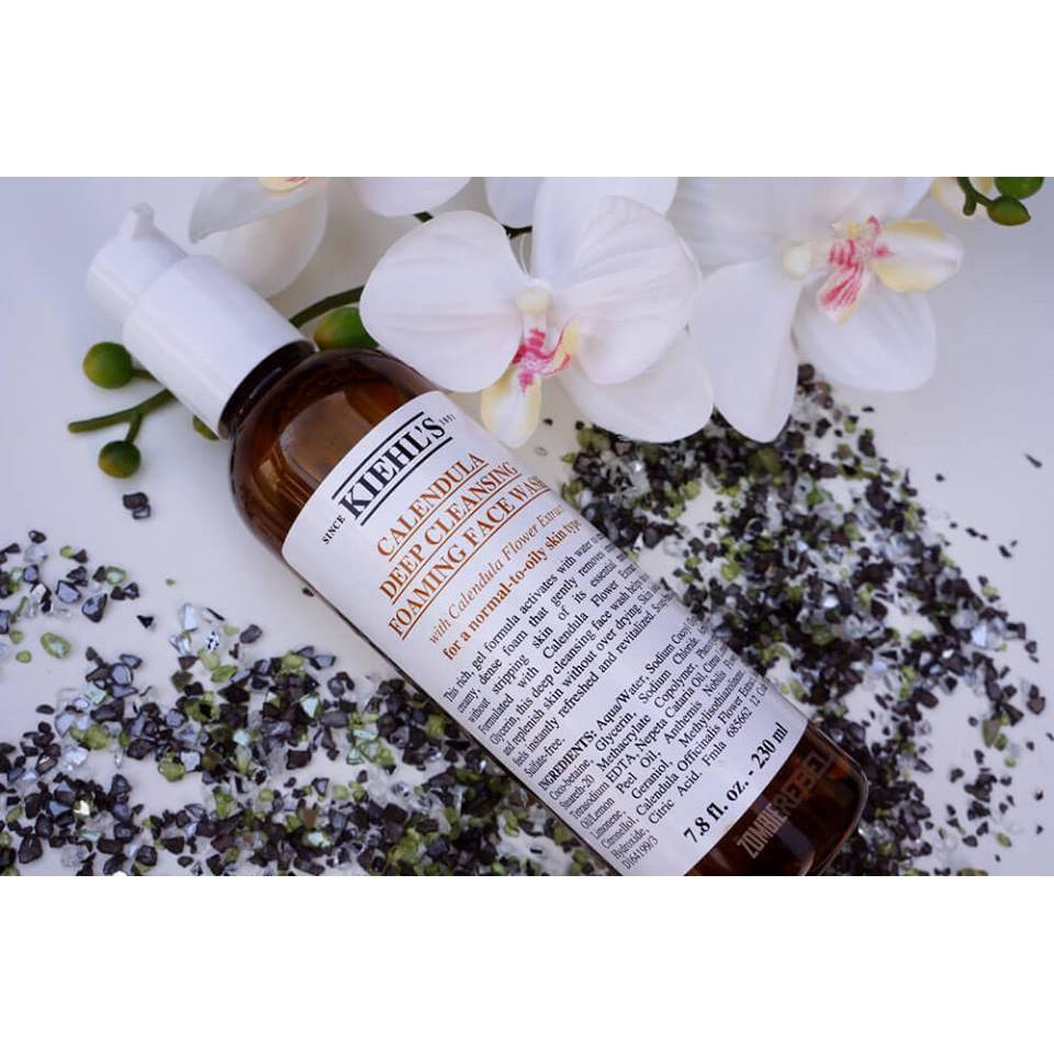 Sữa rửa mặt Kiehl's hoa cúc Calendula Deep Cleansing Foaming Face Wash FULLSIZE