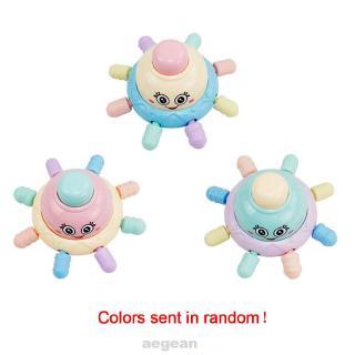 Cartoon Funny Non-toxic Octopus Shape Plastic Portable Soft Teether Molar Baby Rattles