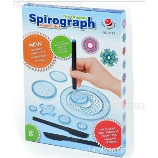 SPIROGRAPH – Thước vẽ sáng tạo cho bé