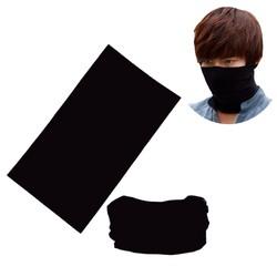 Combo 3 khăn đa năng đen trơn (3 chiếc)
