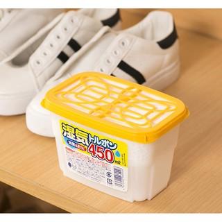 Hộp hút ẩm khử mùi chống ẩm mốc Nhật Bản_450ml thumbnail