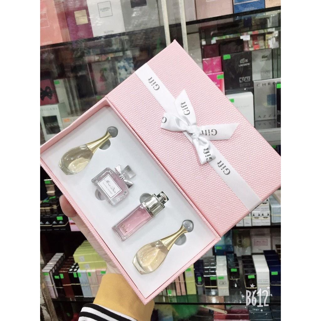 Gift Set nước hoa mini Dior x4 shop cam kết đảm bảo sản phẩm chính hãng