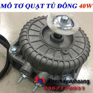 Motor quạt giải nhiệt dàn nóng 40W Motor quạt tủ đông
