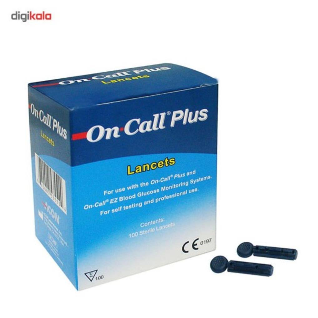 [Sản xuất tại Mỹ] Que thử đường huyết Acon On-Call Plus - Dùng Cho Máy Đo Đường Huyết On-Call Plus, On Call EZ, On Call