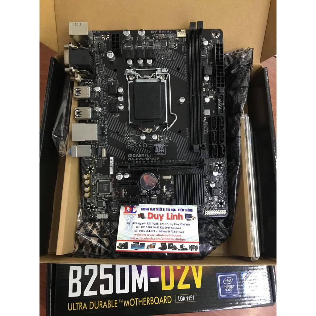 Main Gigabyte H110 DS2 DDR4 mới renew full hộp bảo hành 36 tháng