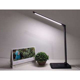 Đèn Bàn Học Đọc Sách, Làm Việc (Học Sinh, Sinh Viên, Văn Phòng) LED Chống Cận, Cảm Ứng Nhôm Cao Cấp eLights
