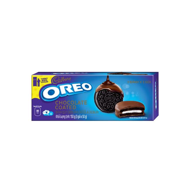 Bánh quy OREO phủ sôcôla, hộp 150g