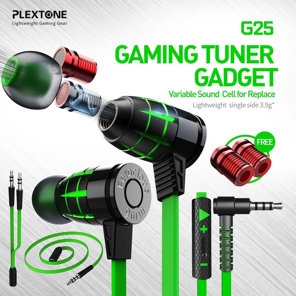Tai nghe gaming Plextone G25 - Bass sâu -Âm thanh cực chất-Chính hãng
