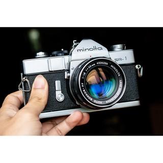 [Sẵn hàng] Máy ảnh cổ vintage Minolta SR-1 kèm lens 55/1.8 hoặc 55/1.7
