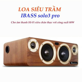 Loa thanh xem phim nghe nhạc chơi game kết nối không dây tivi smart IBASS SOLO PRO 3